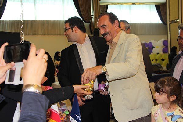 برخی تصاویر هنرمندان در جشن ارمغان شریف