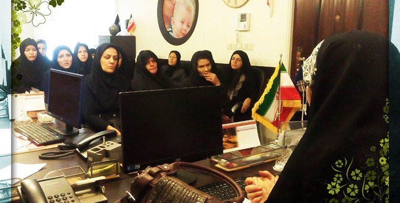 برگزاری جلسات مشاوره برای دستیابی به سلامت روانی زنان و کودکان