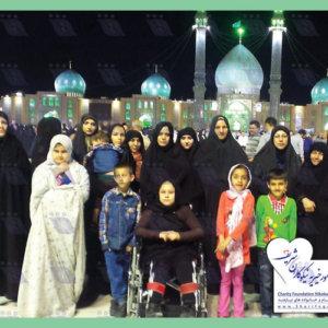 سفر مددجویان به شهر مقدس قم و مسجد جمکران