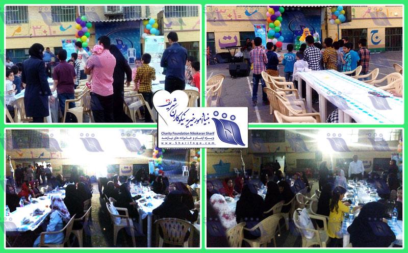 ضیافت افطاری بنیاد برای میهمانان ویژه