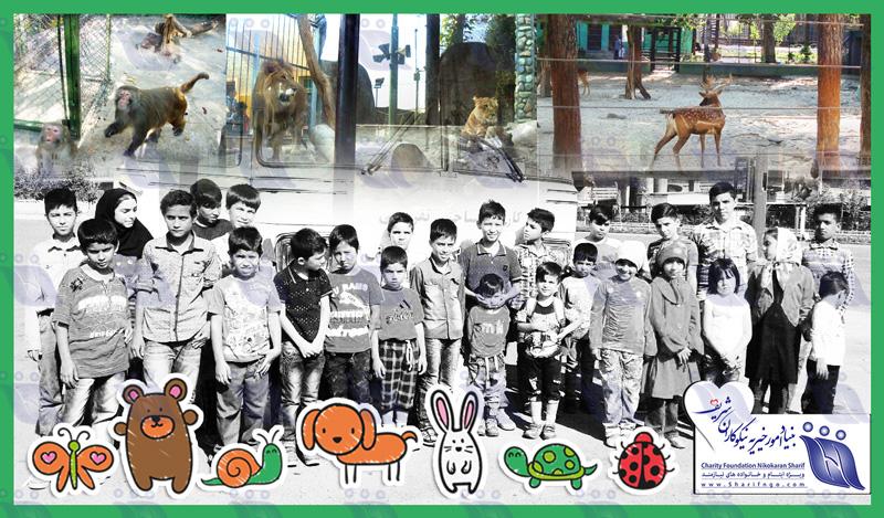 سفر سیاحتی بچههای ورامین به باغ وحش تهران