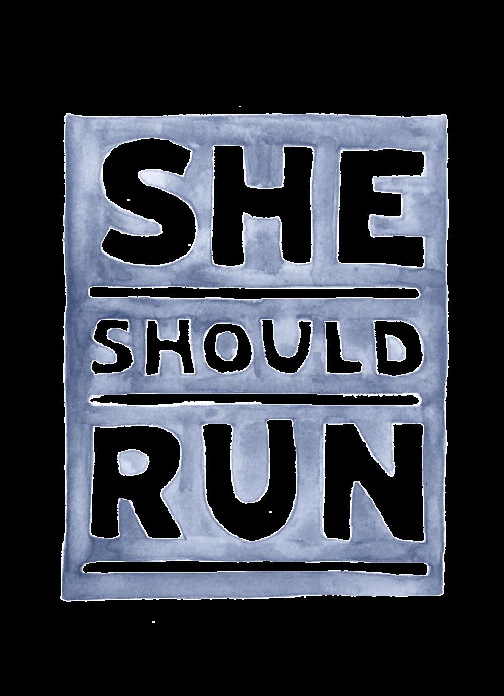 she should run و خیریه ها