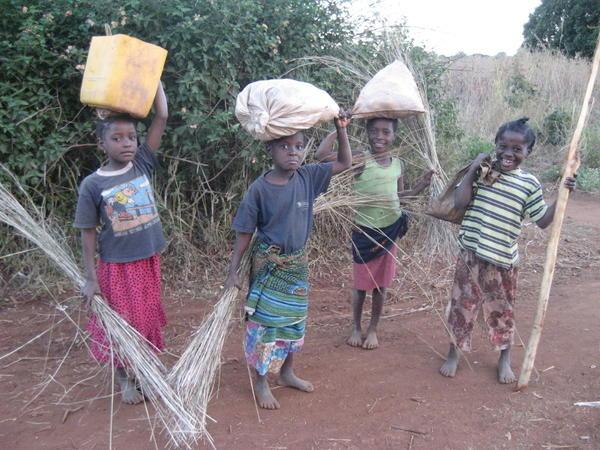 کمک به کودکان کار در اریتره