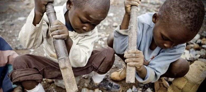 کمک به کودکان کار در کنگو