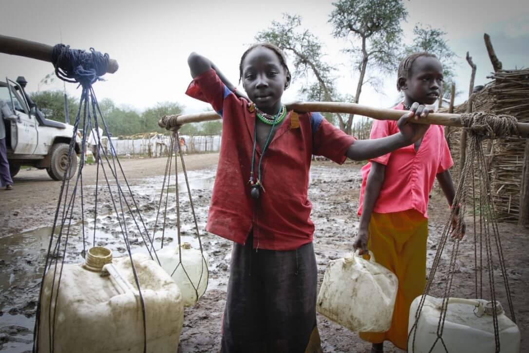 کمک به کودکان کار در سودان