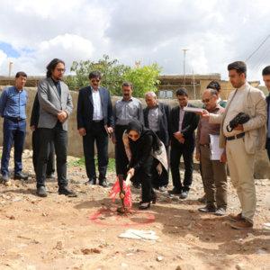 آغاز ساخت خانه های بهداشت و درمان مناطق زلزله زده کرمانشاه