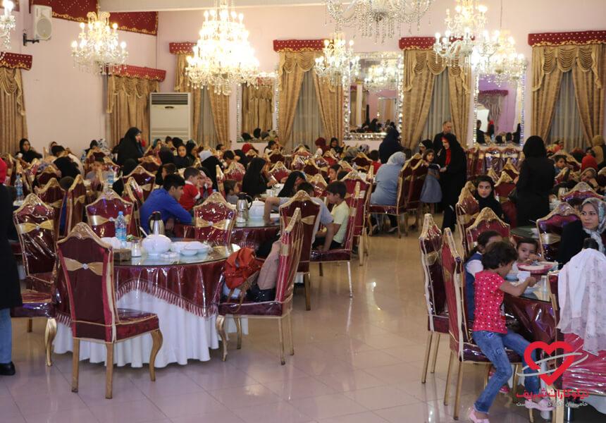 افطاری رمضان 97 موسسه خیریه نیکوکاران شریف