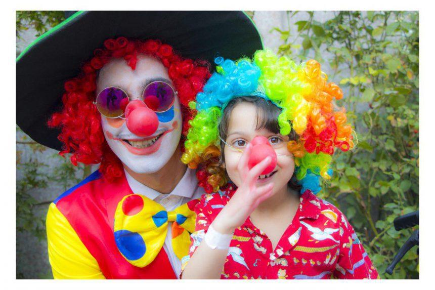 روز ملی کودک با کودکان رفیده (بیمارستان توانبخشی معلولان)