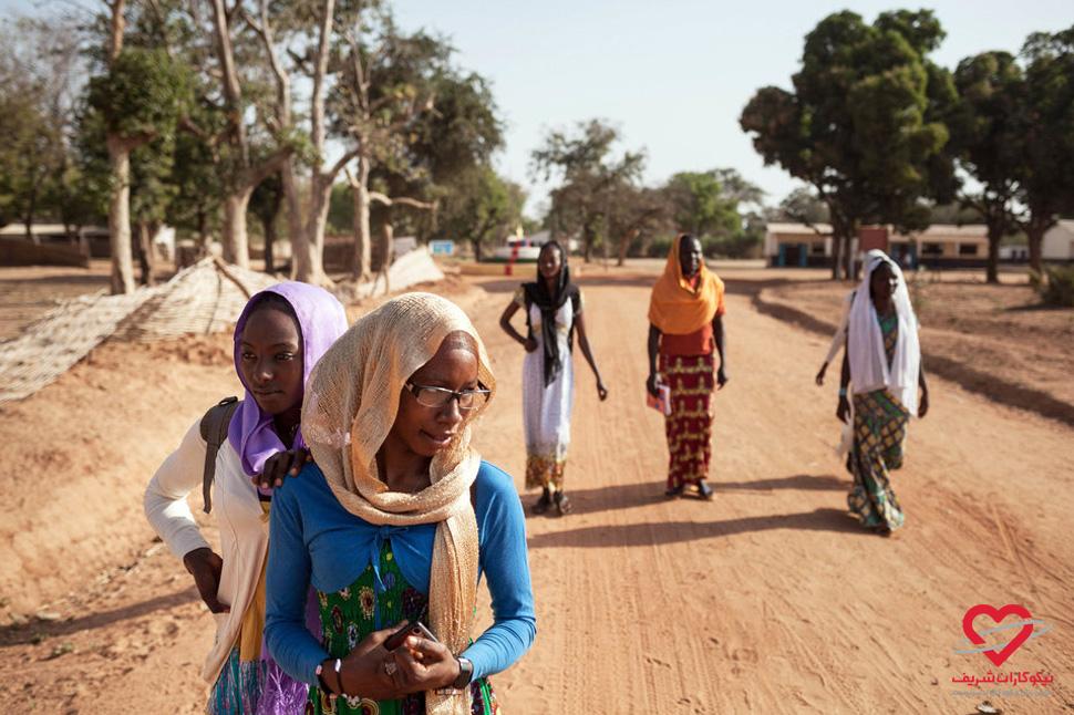 تحصیل حق همه کودکان است - آفریقا - موسسه خیریه نیکوکاران شریف