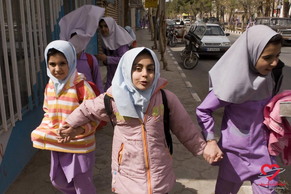 تحصیل حق همه کودکان است - ایران - موسسه خیریه نیکوکاران شریف