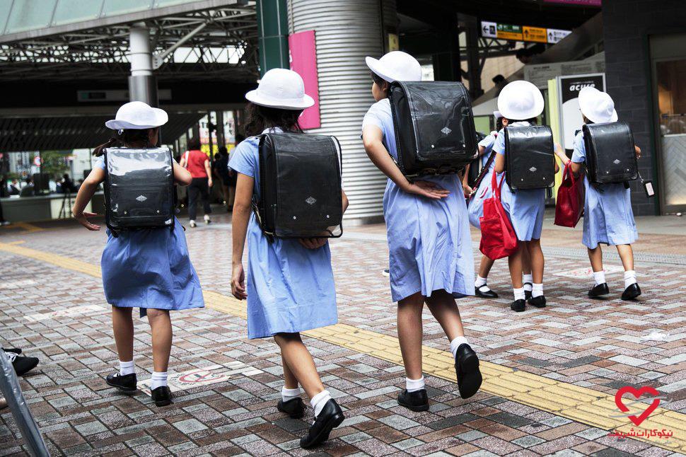 تحصیل حق همه کودکان است - ژاپن - موسسه خیریه نیکوکاران شریف