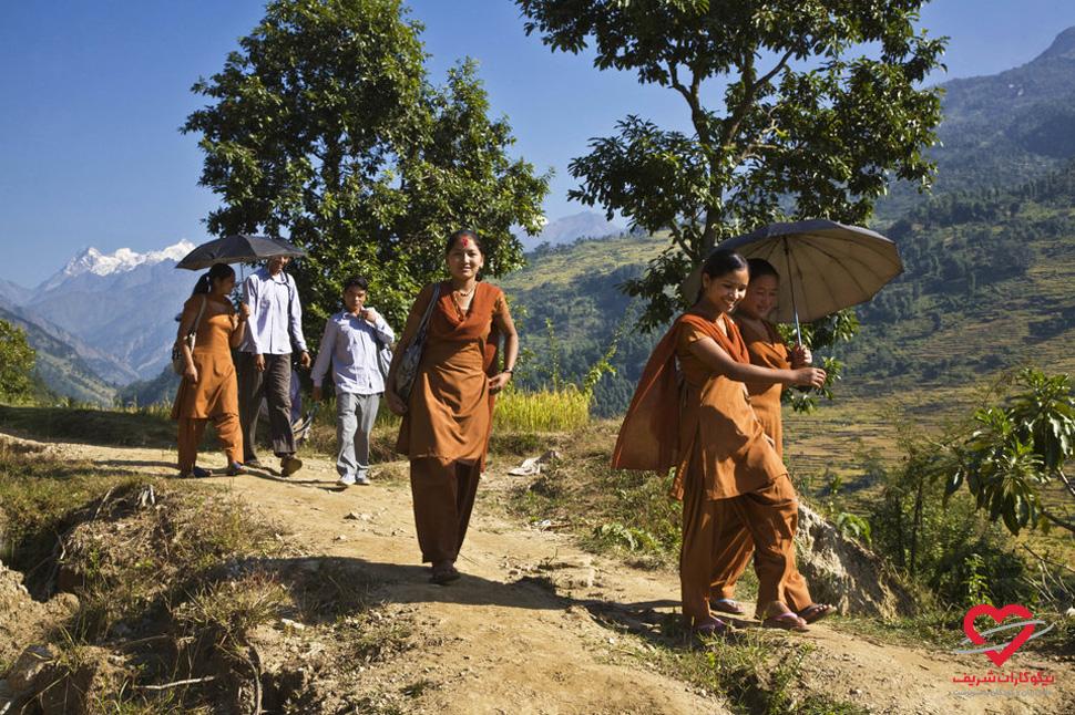 تحصیل حق همه کودکان است - نپال - موسسه خیریه نیکوکاران شریف