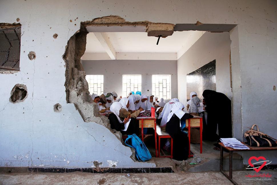 تحصیل حق همه کودکان است - یمن - موسسه خیریه نیکوکاران شریف