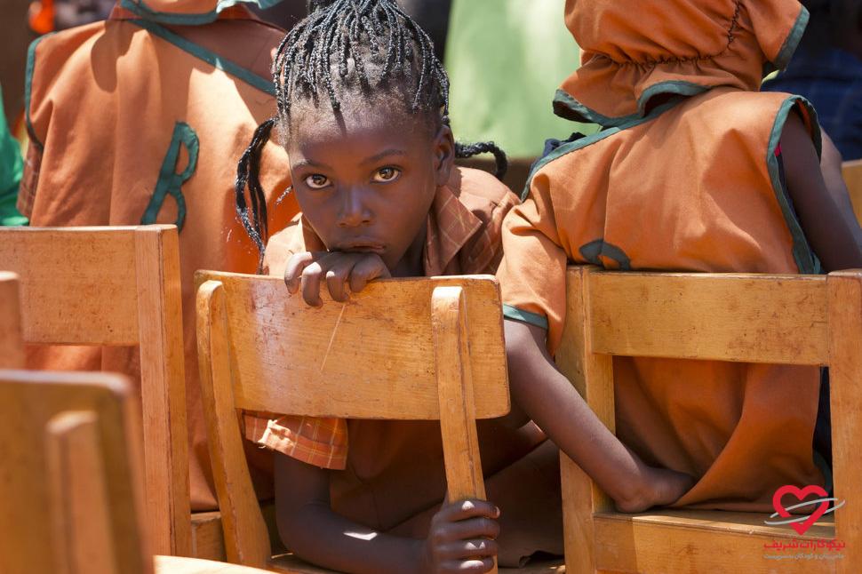 تحصیل حق همه کودکان است - زیمبابوه - موسسه خیریه نیکوکاران شریف