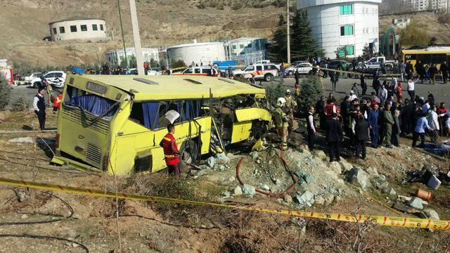 پیام تسلیت به بازماندگان واژگونی اتوبوس حامل دانشجویان علوم تحقیقات