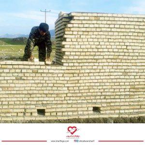 بازسازی روستای چم گرداب لرستان
