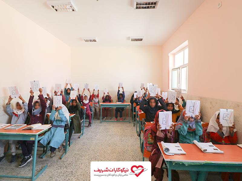 کمک رسانی نیکوکاران شریف به روستای عورکی