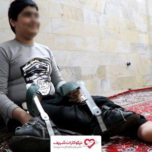 داستان مهر – کمپین کفش بریس برای سید امین