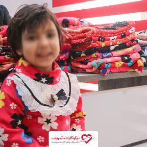 اهدای وسایل گرمایشی و پوشاک به خانواده های تحت پوشش