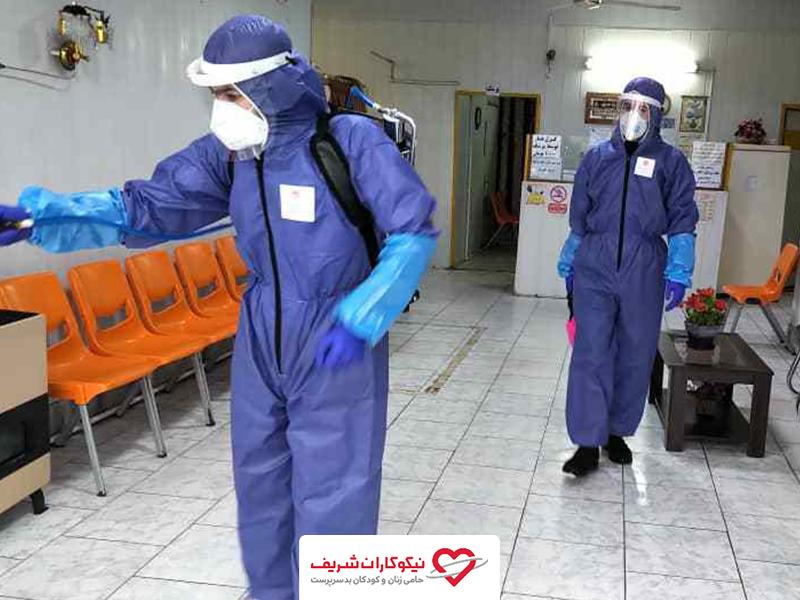 یاری رسانی نیکوکاران شریف به مراکز بهداشتی