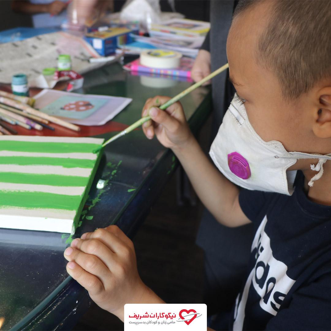 کلاس نقاشی کودکان